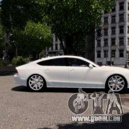 Audi A7 Sportback für GTA 4 Rückansicht