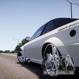 Sultan RS 3.0 für GTA 4 hinten links Ansicht