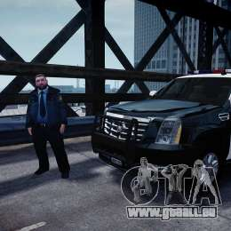 Cadillac Escalade Police V2.0 Final für GTA 4