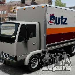Nouvelles publicités pour le camion, Mule pour GTA 4