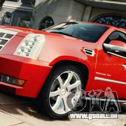 Cadillac Escalade ESV Platinum 2012 für GTA 4