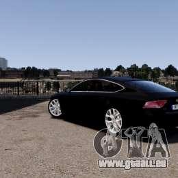 Audi A7 Sportback für GTA 4 hinten links Ansicht