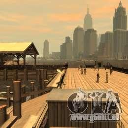 Surfbrett für GTA 4 rechte Ansicht