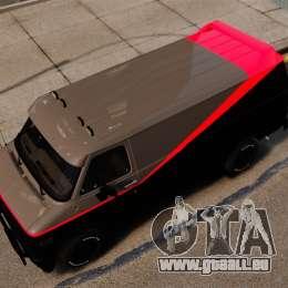 GMC Vandura G-1500 1983 Tuned [EPM] pour GTA 4 est un droit