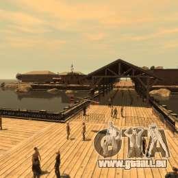 Surfbrett für GTA 4 Innenansicht