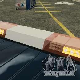 Ford Transit Joen Loka [ELS] pour GTA 4 est une vue de dessous