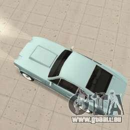 Aston Martin V8 pour GTA San Andreas sur la vue arrière gauche