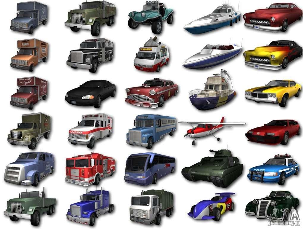 Mafia  Real Car Names List