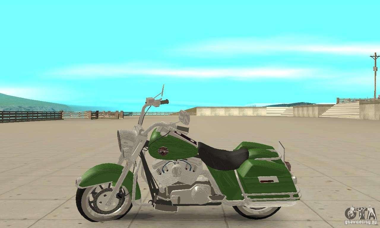 Gta San Andreas Harley Davidson Fatboy