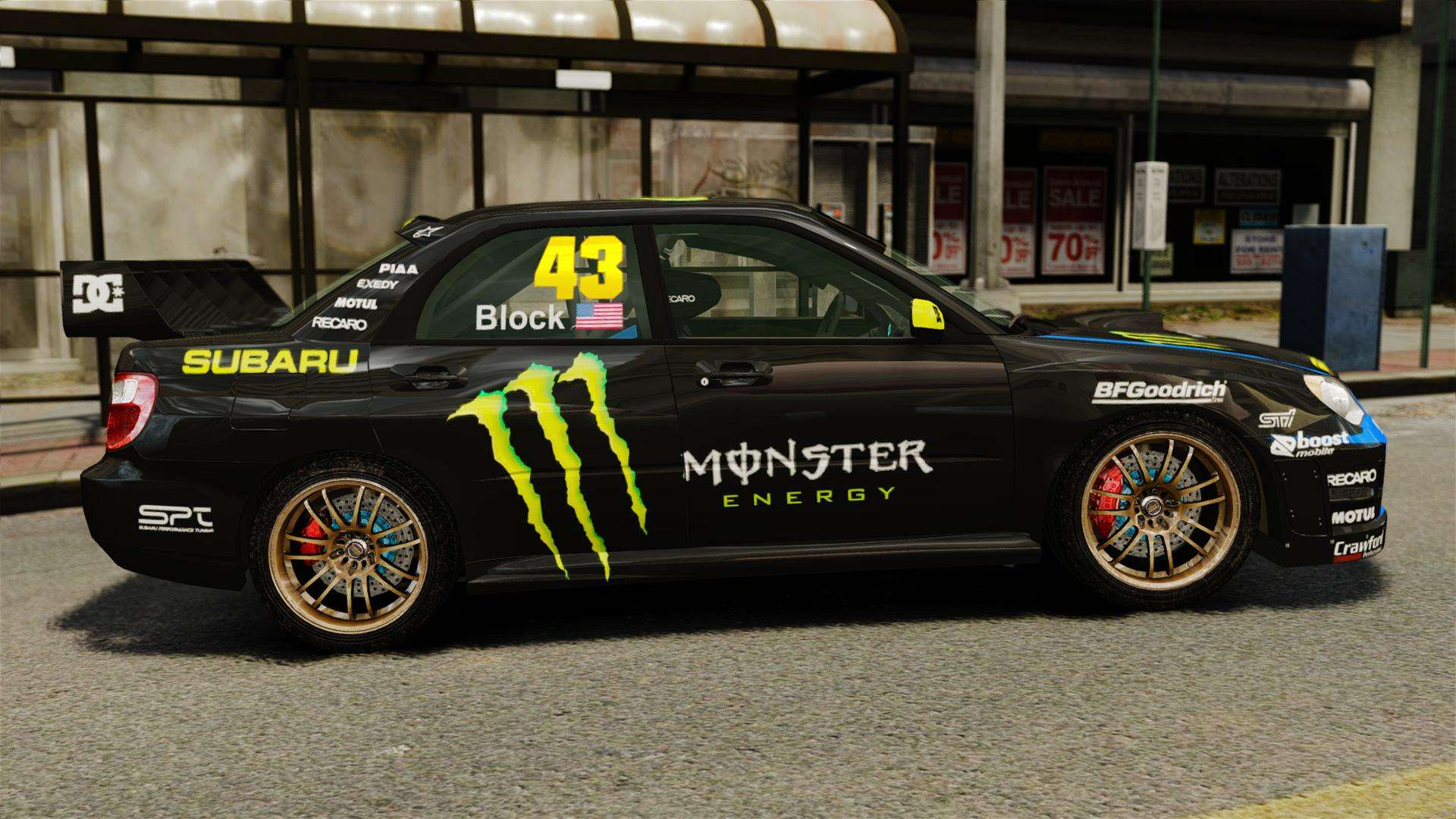 subaru impreza wrx sti gd gymkhana ken block pour gta 4. Black Bedroom Furniture Sets. Home Design Ideas