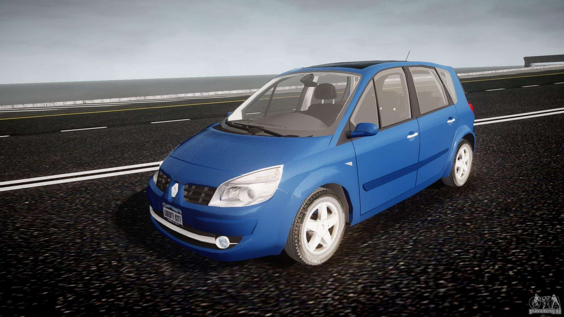 renault scenic ii phase 2 pour gta 4. Black Bedroom Furniture Sets. Home Design Ideas