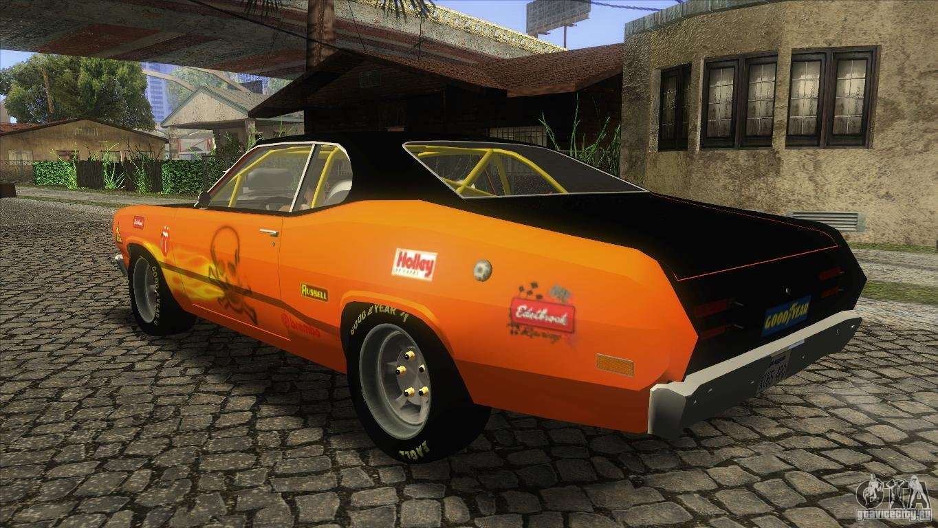 plymouth duster 440 pour gta san andreas. Black Bedroom Furniture Sets. Home Design Ideas