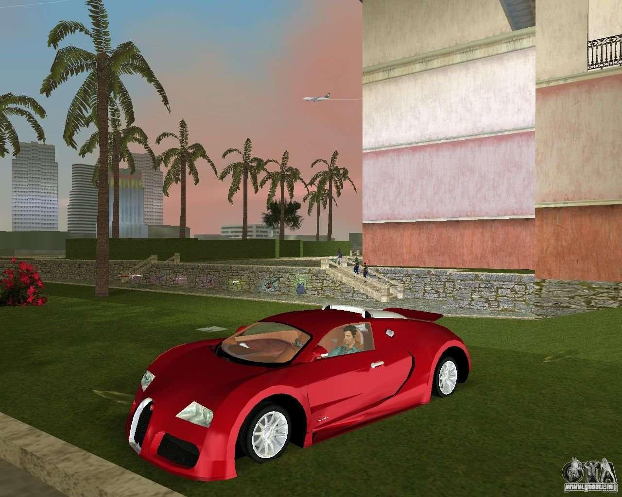 bugatti veyron pour gta vice city. Black Bedroom Furniture Sets. Home Design Ideas
