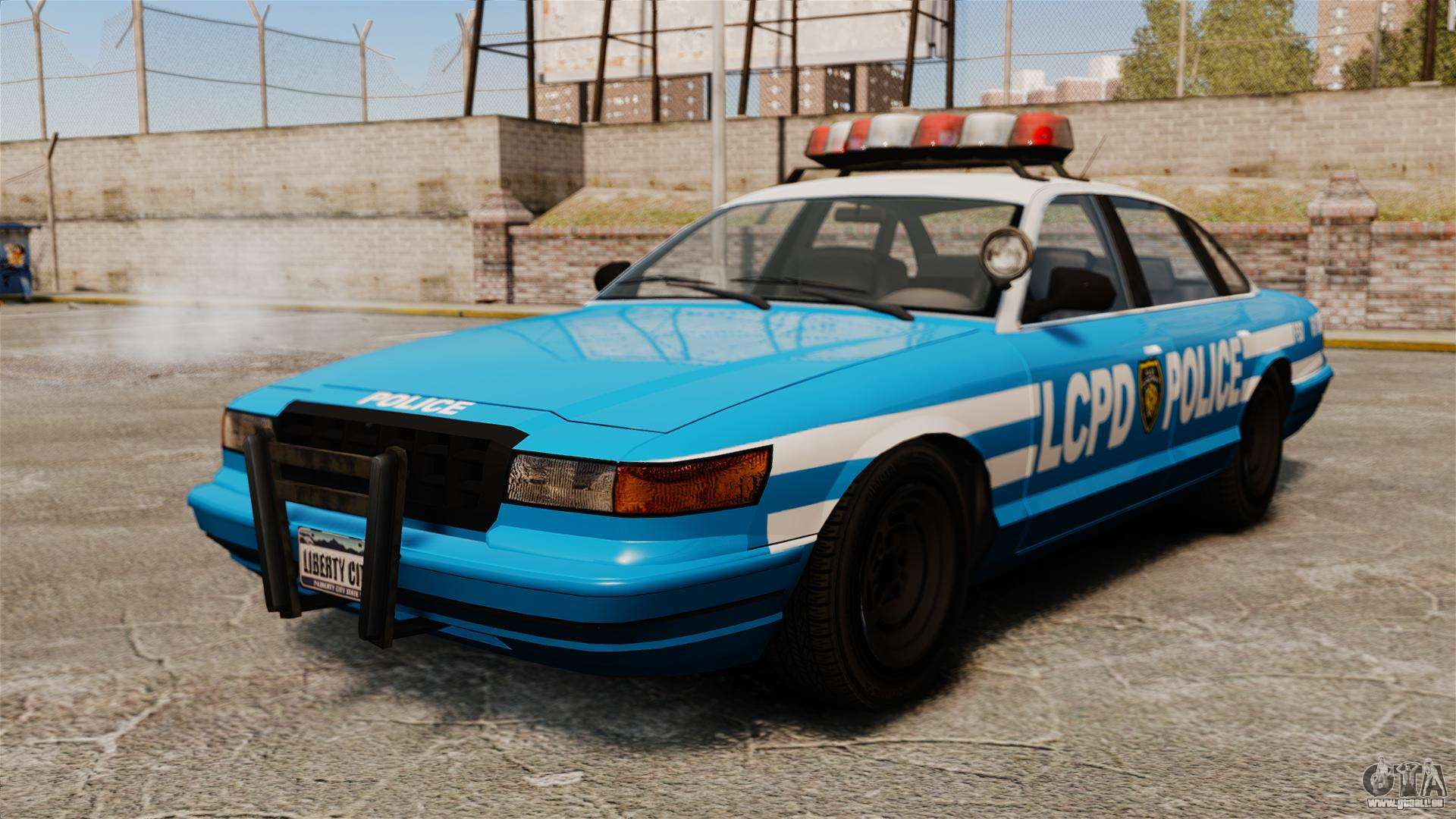 une nouvelle voiture de police pour gta 4. Black Bedroom Furniture Sets. Home Design Ideas