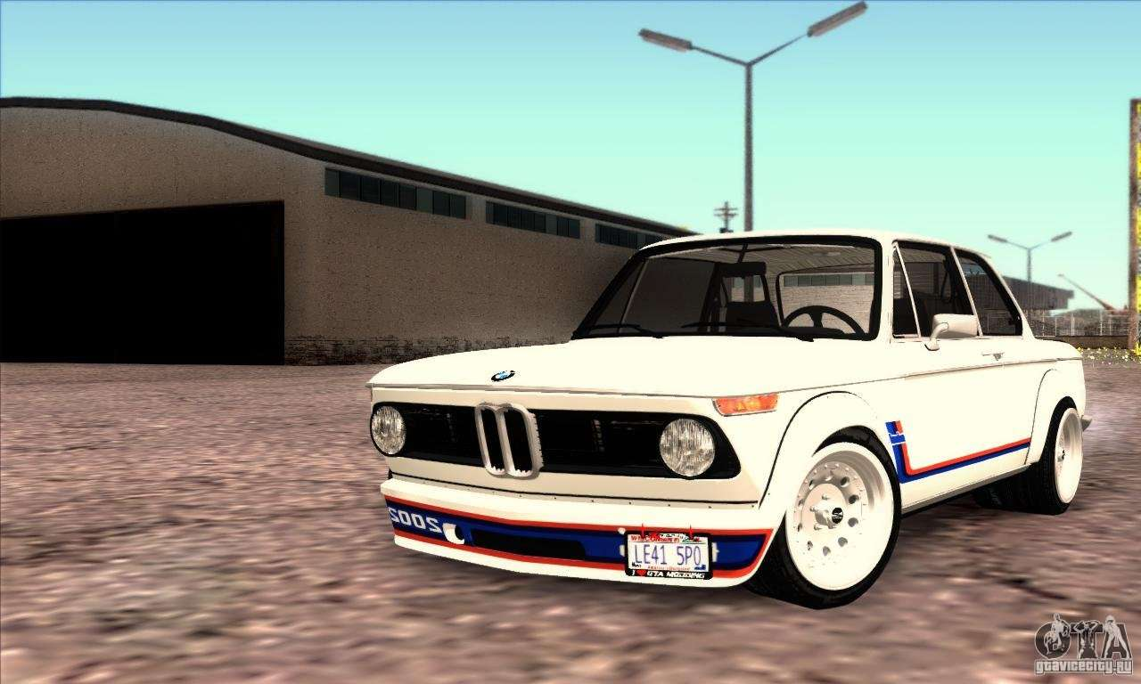 bmw 2002 turbo pour gta san andreas. Black Bedroom Furniture Sets. Home Design Ideas