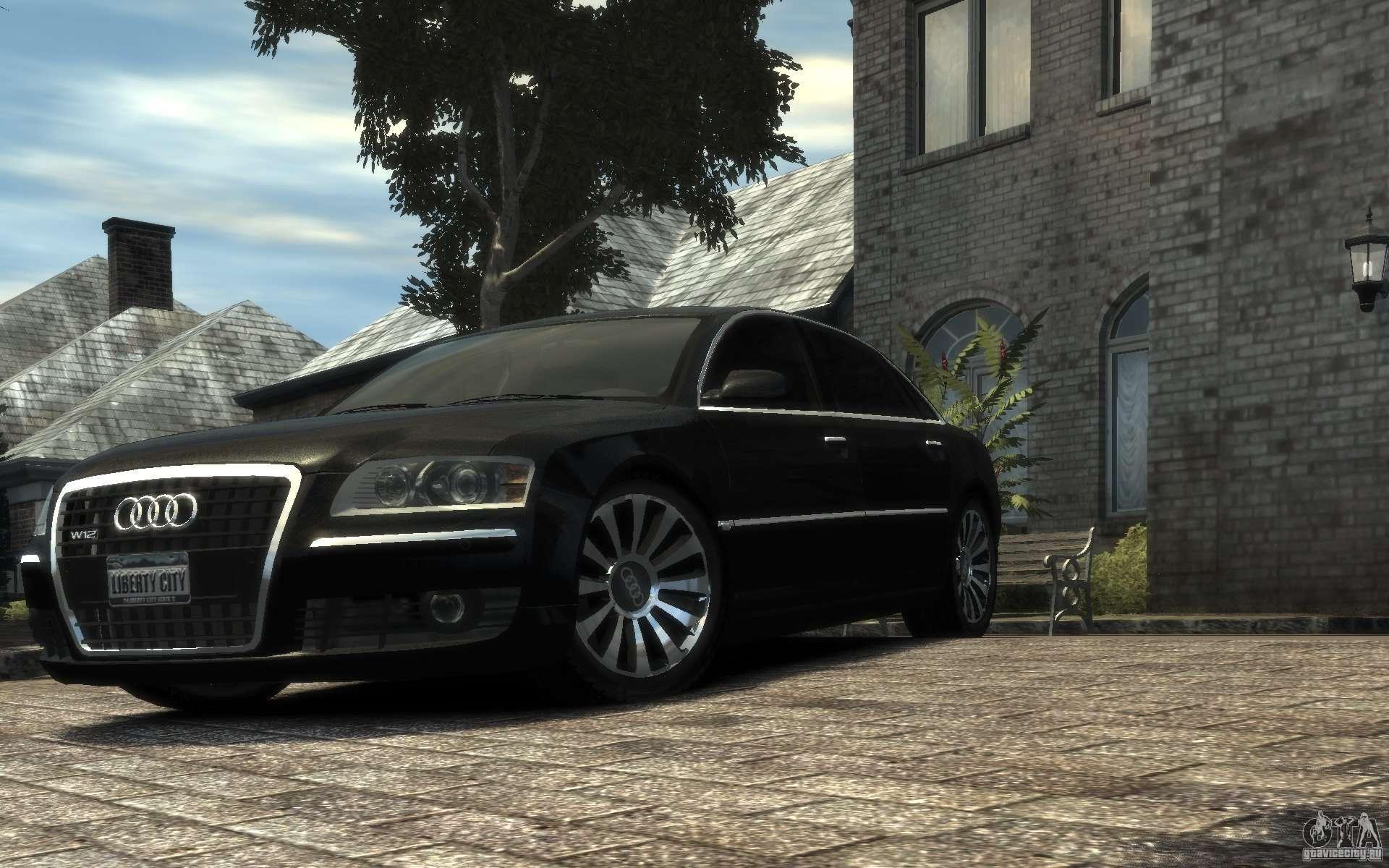Audi A8 L 6 0 Quattro Transporter 3 F 252 R Gta 4