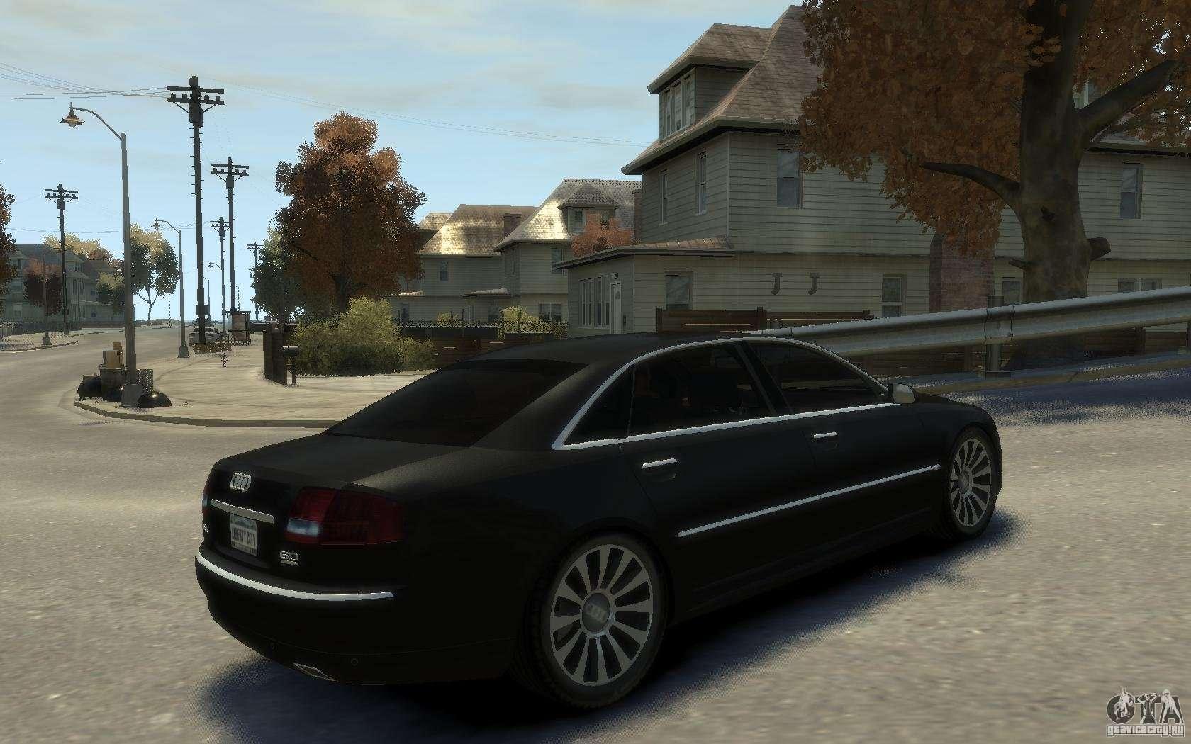 Audi A8 W12 >> Audi A8 L 6.0 Quattro (Transporter 3) für GTA 4