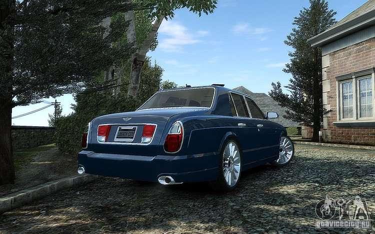 Bentley Arnage T Pour Gta 4