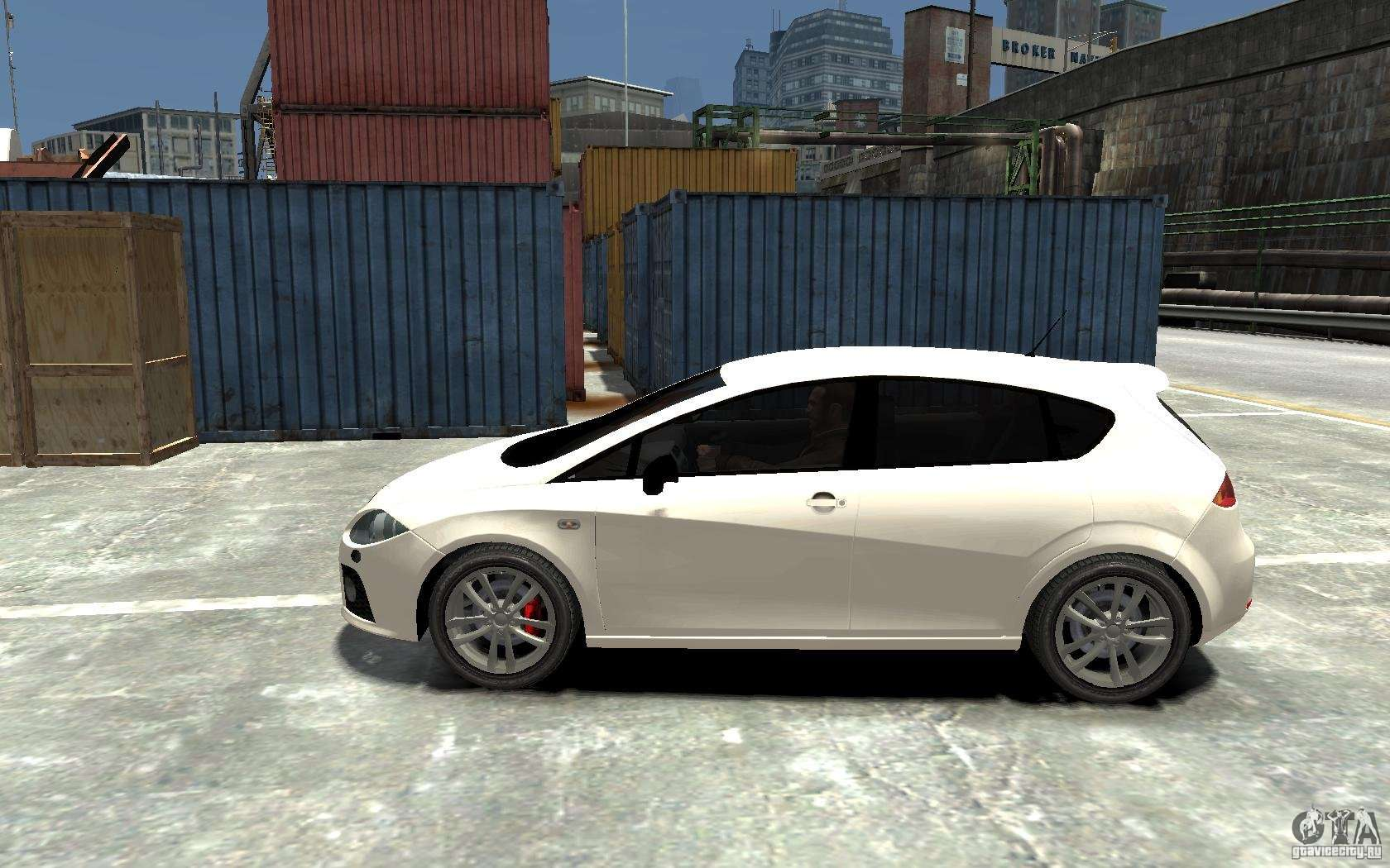 seat leon cupra v 2 pour gta 4. Black Bedroom Furniture Sets. Home Design Ideas