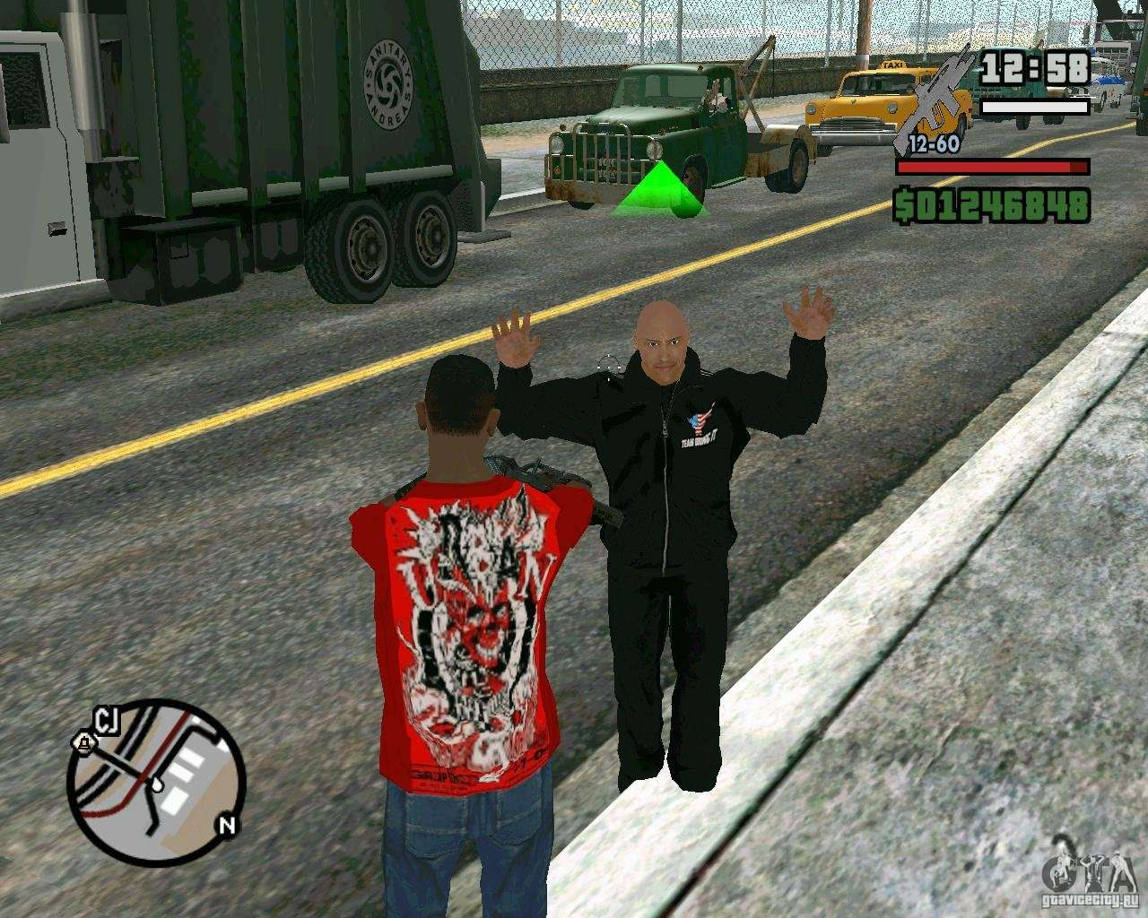 Télécharger skin rock lee gta sa