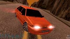 ВАЗ 2114 Orange juteuse pour GTA San Andreas