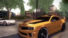 Chevrolet Camaro 2SS 2012 Bumblebee für GTA San Andreas