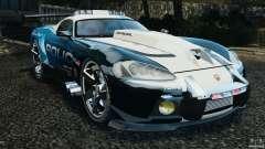 Dodge Viper SRT-10 ACR ELITE POLICE [ELS] für GTA 4