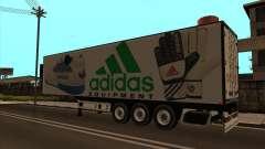 Remorque Adidas