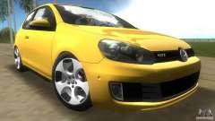 Volkswagen Golf 6 GTI für GTA Vice City
