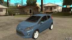 Ford Fiesta Zetec S 2009 pour GTA San Andreas