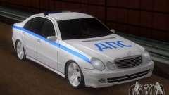 MERCEDES BENZ E500 w211 SE Polizei Russland