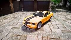 Shelby GT 500 KR 2008 K.I.T.T. für GTA 4