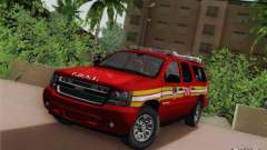 Chevrolet Suburban EMS Supervisor 862 für GTA San Andreas