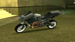 Motorrad der Alien-Stadt