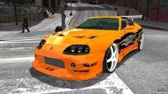Toyota Supra Fast And Furious für GTA 4
