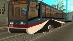 Die neue Straßenbahn