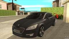 Peugeot 508 2011 EU plates pour GTA San Andreas