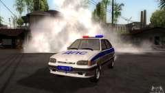 ВАЗ 2114-Polizei