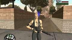 Sonya from Mortal Kombat 9