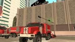 ZIL-Feuerwehrauto für GTA San Andreas