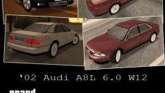 Audi A8 Long 6.0 W12 2002