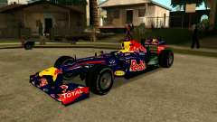 Red Bull RB8 F1 2012 pour GTA San Andreas