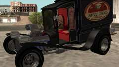 Ford model T 1923 Ice cream truck pour GTA San Andreas