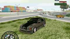 BMW E36 Wide Body Drift für GTA San Andreas
