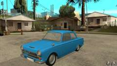 Lotus Cortina Mk1 1963 für GTA San Andreas