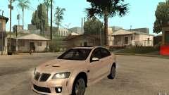 Pontiac G8 GXP 2009