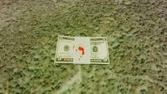 USA-Banknoten im Wert von $ 5