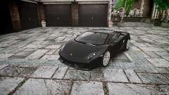 Lamborghini Gallardo LP560-4 серый pour GTA 4