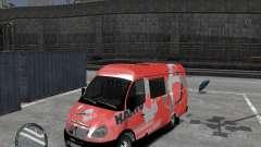 Gazelle 2705 Telkomsel Van