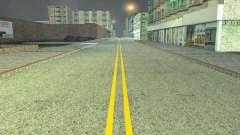 Construction de nouvelles routes à San Fierro